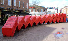"Kingston-Upon-Thames, ""Out of Order"", Surrey © David Mach"